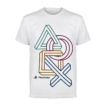 Playstation 3D Icons Boys T-Shirt | Official Merchandise