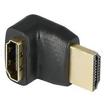 Hdmi Down Right Angled 90 Degree Adapter