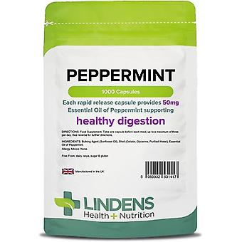 Lindens Peppermint Oil 50mg Capsules 1000 (1417)