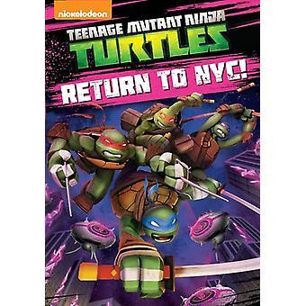 Teenage Mutant Ninja Turtles: Return to Nyc [DVD] USA import