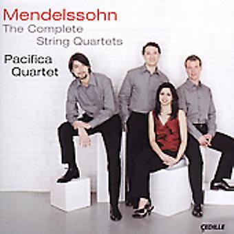 F. Mendelssohn - Mendelssohn: The Complete String Quartets [CD] USA import