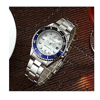 Genuine Deerfun Homage Watch White Blue Black Silver Date Watches Quality Sale