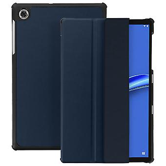 Lenovo Tab M10 Plus Case with Video support and Keyboard Slim Design - Dark blue