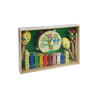 ABG Wooden Music Set - Owl