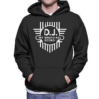 DJ International Classic Cross Logo Men's Hooded Sweatshirt