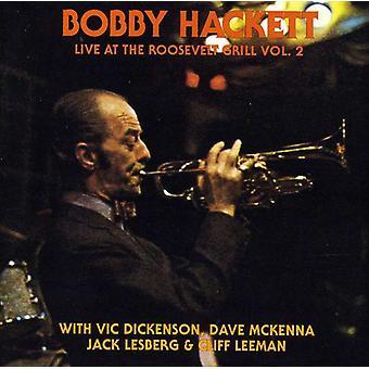 Bobby Hackett - Bobby Hackett: Vol. 2-Live at the Roosevelt [CD] USA import