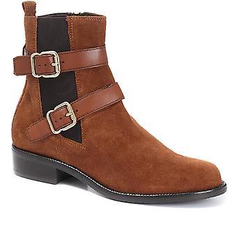 Jones Bootmaker Femmes Cuir Chelsea Ankle Boots