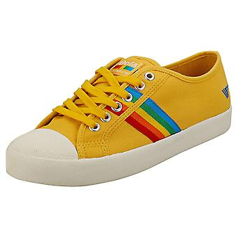 Gola Coaster Womens Fashion Trainers in Sun Multicolour