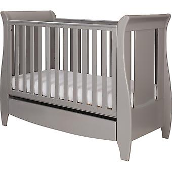Tutti Bambini Katie Space Saver Sleigh Cot Bed with Drawer