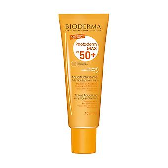 Photoderm Max SPF 50+ Golden Tinted Aquafluid Very High Protection 40 ml of cream