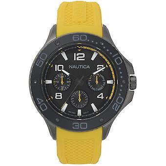 NAPP25003, Nautica Pier Relojes para Hombre -Grey