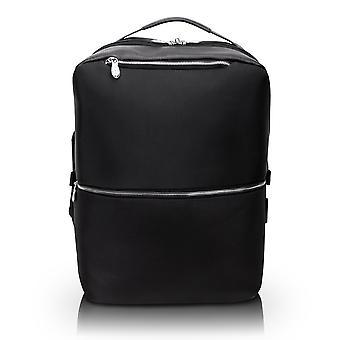"78875, U Series, East Side 17"" Nylon, 2-In-1, Laptop & Tablet, Convertible Travel Backpack & Cross-Body - Black"