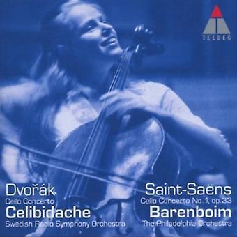 C. Saing-Saens - Dvor K: Cello Concerto; Saint-Sa Ns: Cello Concerto No. 1, Op. 33 [CD] USA import