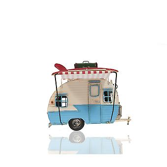 Piggy Bank and Picture Frame Camper Trailer Model