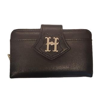 Harry Potter Hogwarts Castle Debossed Black Purse