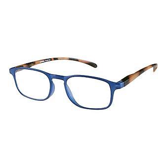 Lesebrille Unisex  Le-0192E Belle havanna blue Stärke +1,00