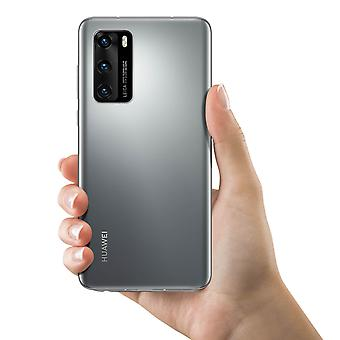 Huawei P40 Battery Cover Original Huawei Back Cover - Argent