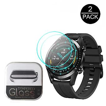 For Huawei Honor Magic Watch 2 Gt 2 42mm/46mm Smartwatch 2.5d Tempered Glass Screen-protector Gt 2 Anti-scratch Clear Glass