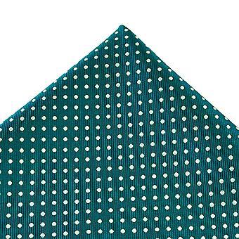 Legături Planet Teal Verde & Alb Polka Dot Pocket Square Batista