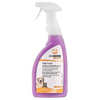 Anigene RTU High-Level Surface Desinfectant Spray Lavendel Duft, 750ml