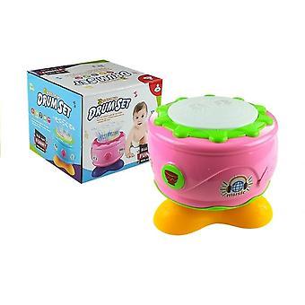 Kinderspielzeug Drum - Lehrtrommel mit Klängen - 18x18x16 cm