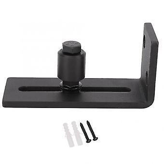 Carbon Steel, Adjustable Sliding, Slides Floor Guide For Barn Door, Hardware