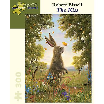 Robert Bissell: The Kiss 300pc Jigsaw Puzzle by Pomegranate