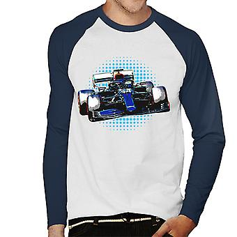 Motorsport Images Lewis Hamilton F1 W11 EQ Men's Baseball Long Sleeved T-Shirt
