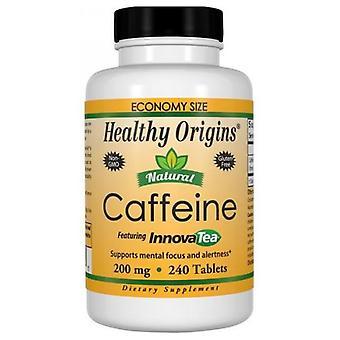 Healthy Origins Caffeine, 200mg, 240 Tabs