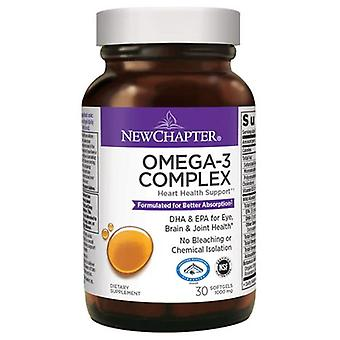 New Chapter Omeg-3 Complex, 30 Softgels