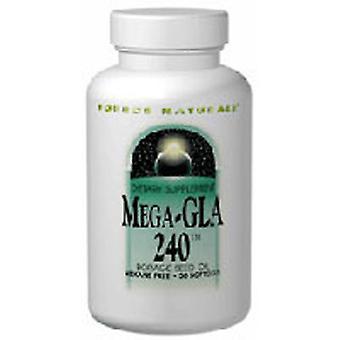 Quelle Naturals Mega-GLA 300, 60 Softgels
