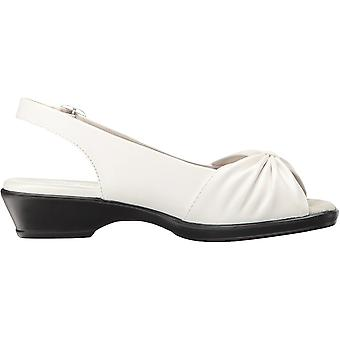 Easy Street naiset ' s fantasia korot sandaalinen valkoinen 8 2W US