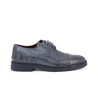 Madrid cl607 pelle men's leather laced shoes