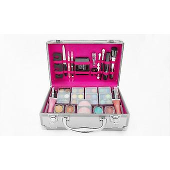 Dawn Till Dusk 54pc make up set, Supplied in a Silver