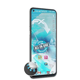 atFoliX 3x Protective Film compatible with TCL 10L Screen Protector clear&flexible