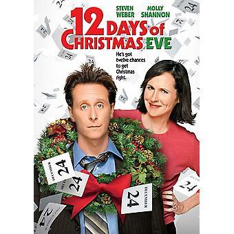 Twelve Days of Christmas Eve [DVD] USA import