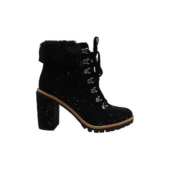 INC International Concepts Women's Shoes Lesia 2 Fabric Closed Toe Ankle Fash...