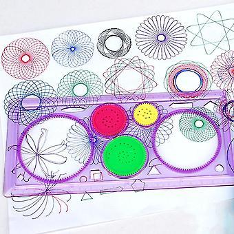 1pc سبيروغراف قاعدة هندسية - تعلم الرسم أداة القرطاسية