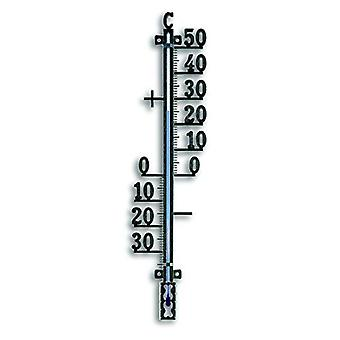 Analogue Outdoor Thermometer Made of Metal 12.5002 - Black