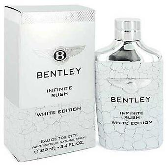 Bentley Infinite Rush By Bentley Eau De Toilette Spray (valkoinen painos) 3.4 Oz (miehet) V728-548033