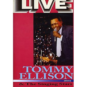 Ellison, Tommy & the Sunging Stars - Live [DVD] Usa:n tuonti