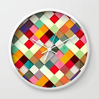High-impact Plexiglass Crystal Face - Wall Clock