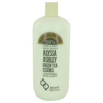 Alyssa Ashley Green Tea Essence lotion pour le corps par Alyssa Ashley 25,5 oz Body Lotion