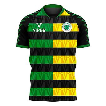 Glasgow Greens 2020-2021 Away Concept Shirt (Viper)