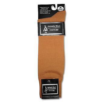 1 זוגות של אנטוניו ריצ'י גברים מוצק ' שמלת כותנה גרביים