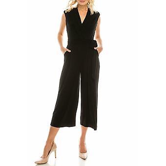 Crepe Jersey Culotte Jumpsuit
