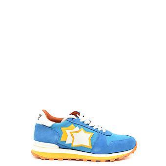 Atlantic Stars Ezbc032016 Herren's Hellblau Wildleder Sneakers