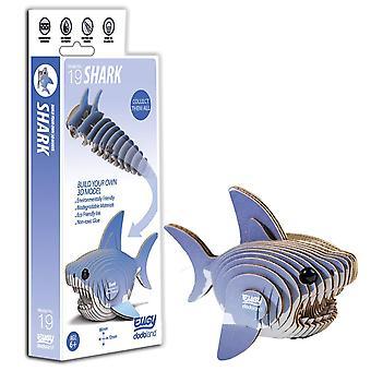 Eugy 3d shark model, craft kit