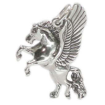 Pegasus 2d Sterling Silver Charm Pendant .925 X 1 Fantasy Charms - 2601