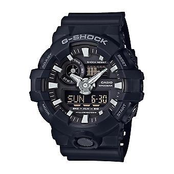 Casio G-choque Ga-700-1ber Watch - Black Multifunction Watch R sine Men
